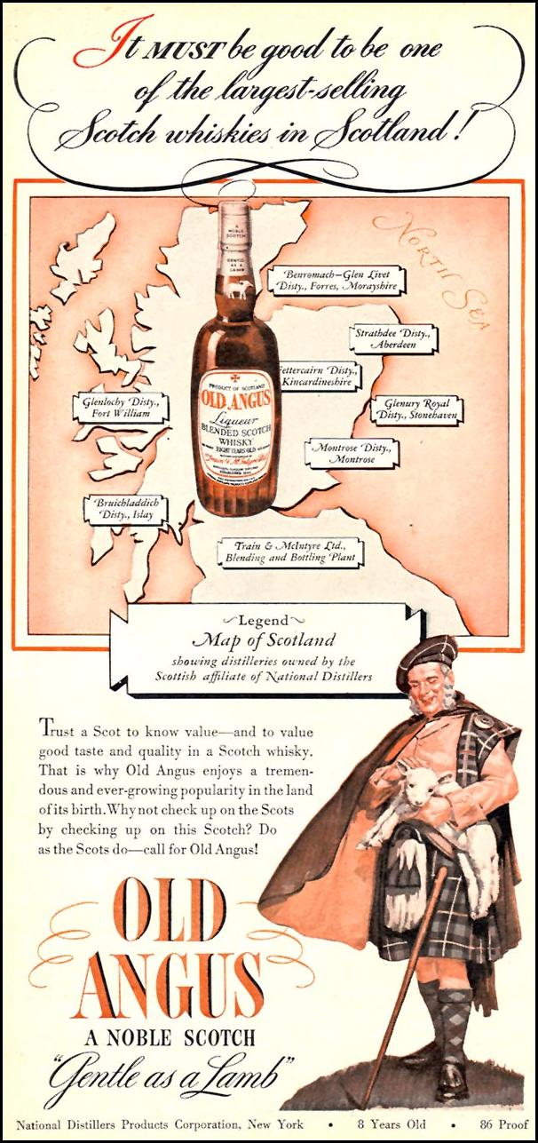 OLD ANGUS SCOTCH