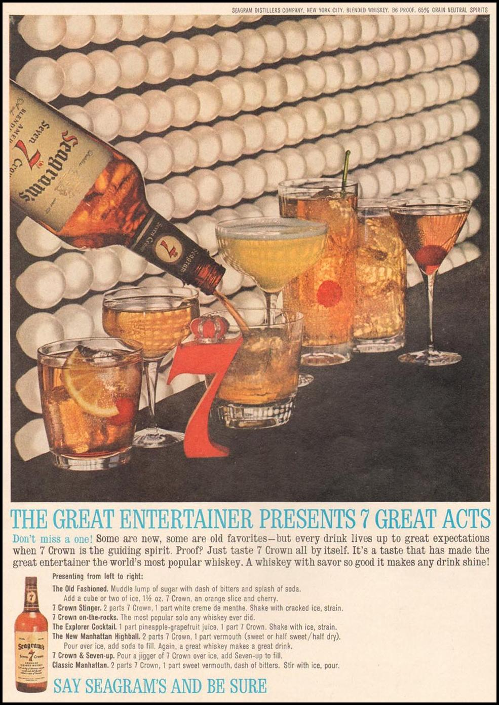 SEAGRAM'S SEVEN CROWN WHISKEY TIME 02/08/1963 p. 40