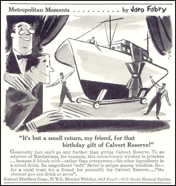 CALVERT RESERVE WHISKEY TIME 06/15/1942 p. 36