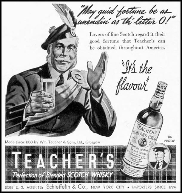 TEACHER'S HIGHLAND CREAM TIME 06/15/1942 p. 60