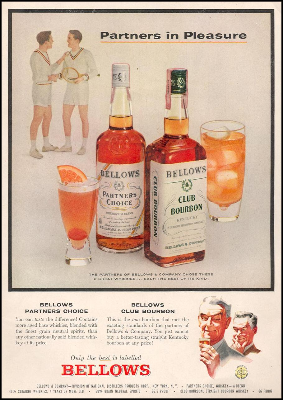 BELLOWS WHISKY & BOURBON TIME 09/17/1956 p. 44