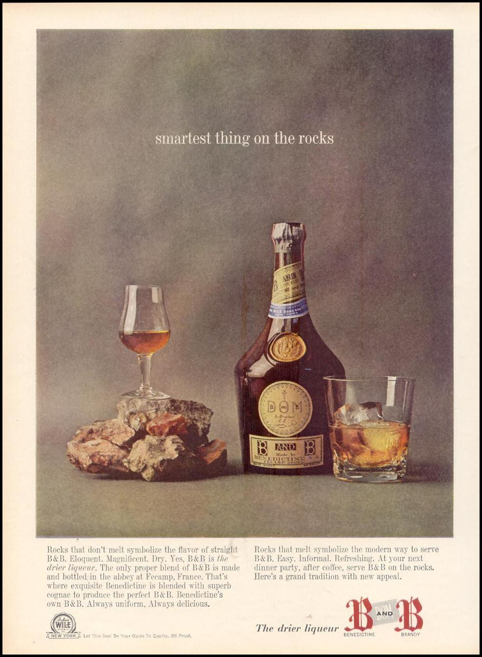 B AND B LIQUEUR TIME 12/06/1963 p. 25