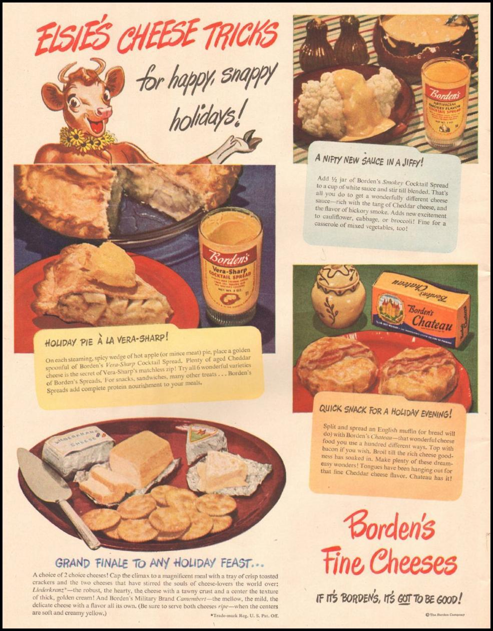 BORDEN'S FINE CHEESES LIFE 11/25/1946