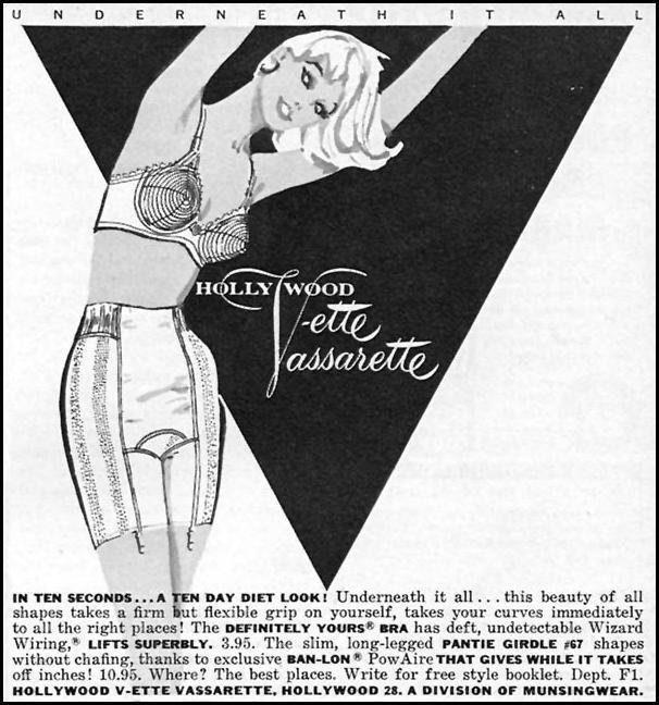 DEFINITELY YOURS BRA FAMILY CIRCLE 02/01/1958 p. 77