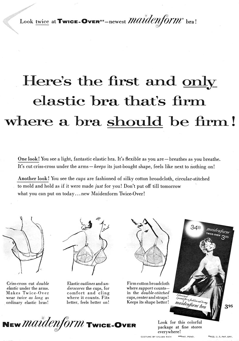 MAIDENFORM BRA FAMILY CIRCLE 11/01/1957 p. 11