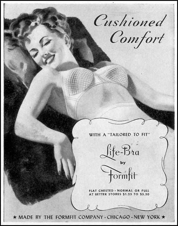 LIFE-BRA BY FORMFIT LIFE 02/28/1944 p. 92
