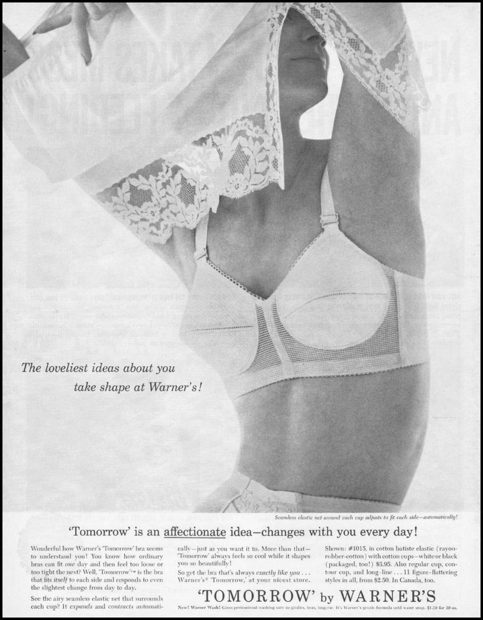 WARNER'S BRAS LIFE 05/05/1961 p. 84