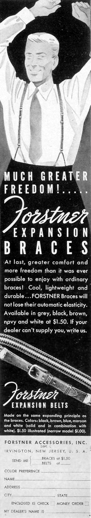 FORSTNER EXPLANSION BRACES LIFE 09/20/1937 p. 99