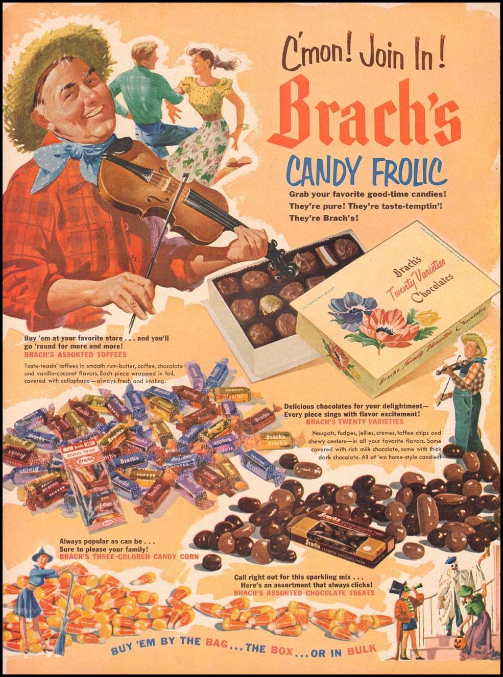 BRACH'S CANDY LIFE 10/13/1952 p. 64
