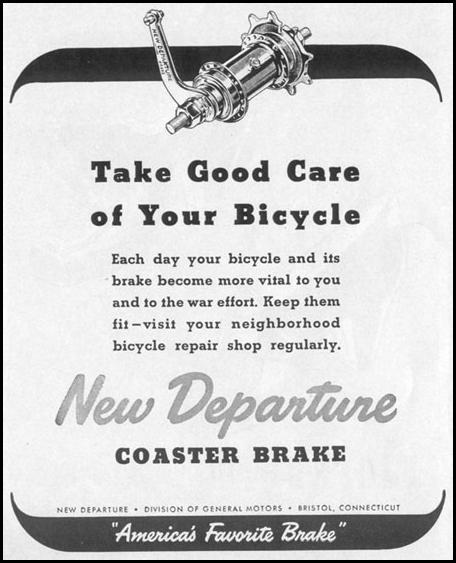 NEW DEPARTURE COASTER BRAKE LIFE 11/02/1942 p. 16