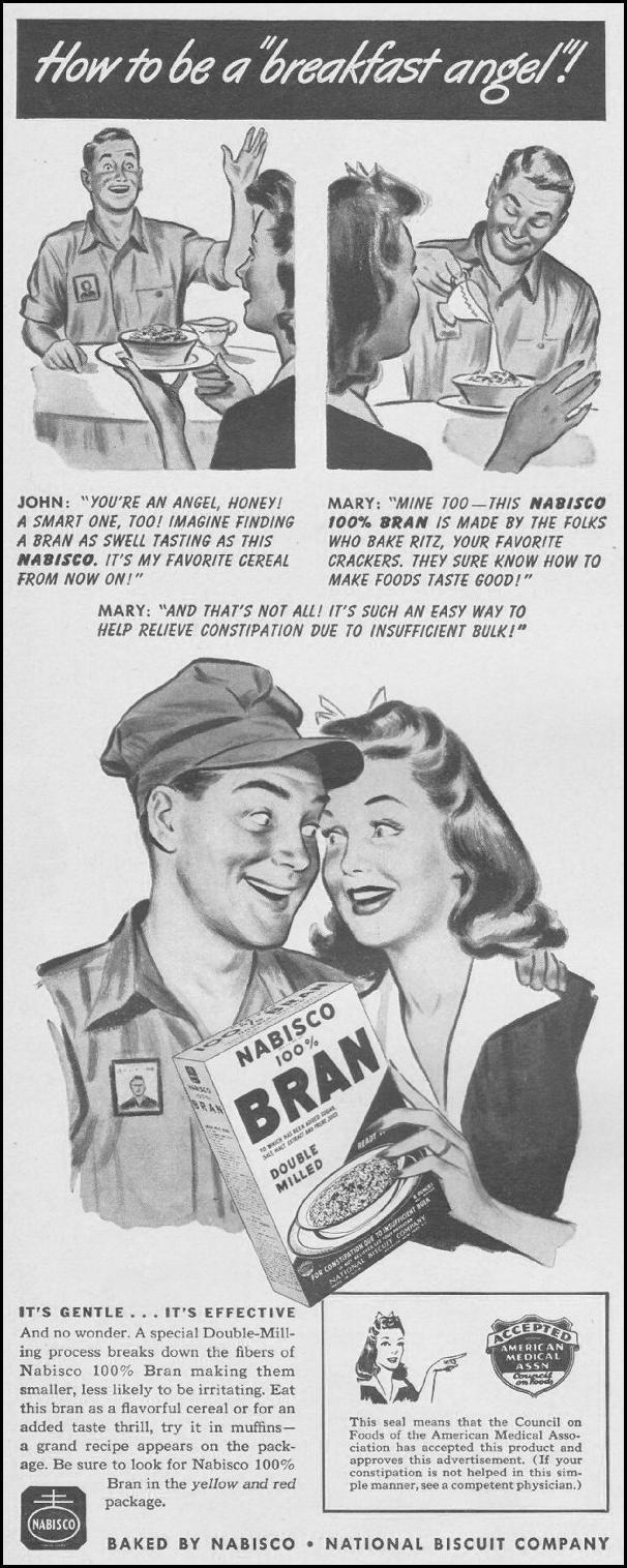 NABISCO 100% BRAN LIFE 08/09/1943 p. 2
