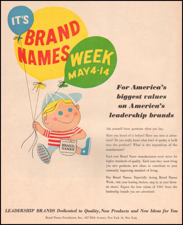 BRAND NAMES LIFE 05/05/1961
