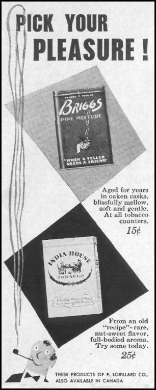 BRIGGS PIPE MIXTURE LIFE 10/11/1948 p. 11