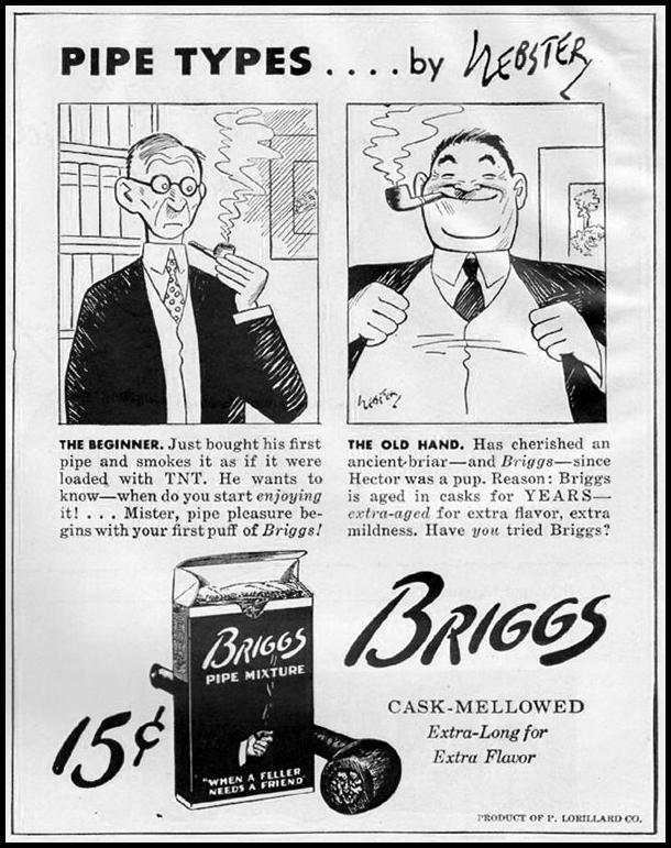 BRIGGS PIPE MIXTURE LIFE 10/23/1944 p. 111