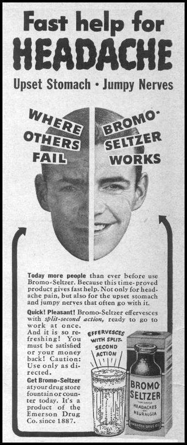 BROMO-SELTZER LIFE 04/17/1950 p. 6