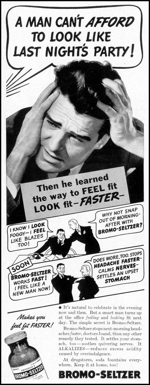BROMO-SELTZER LIFE 08/02/1937