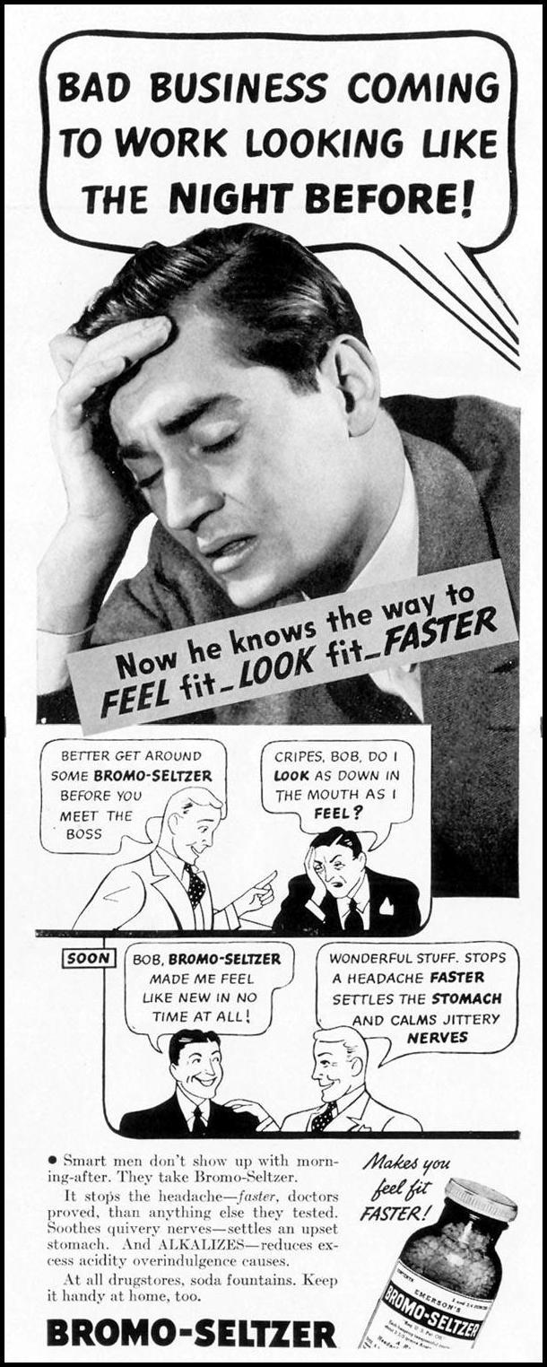 BROMO-SELTZER LIFE 08/30/1937 p. 88