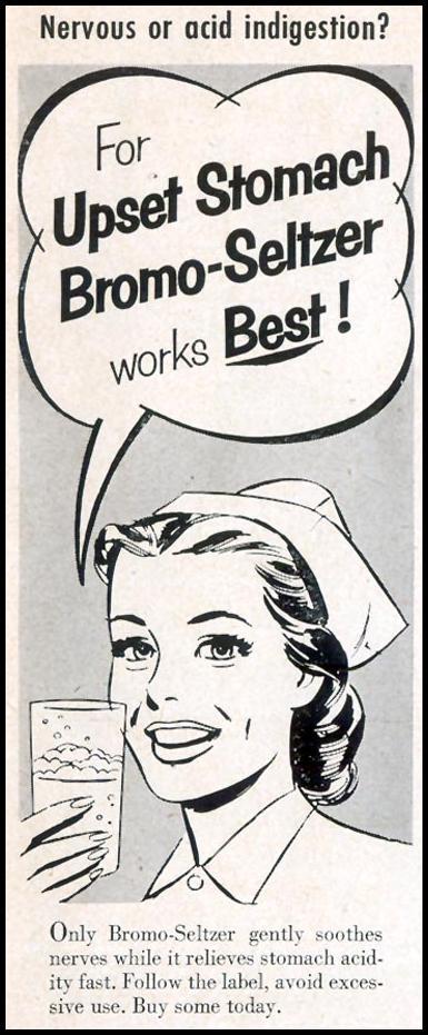 BROMO-SELTZER LIFE 10/19/1953 p. 15