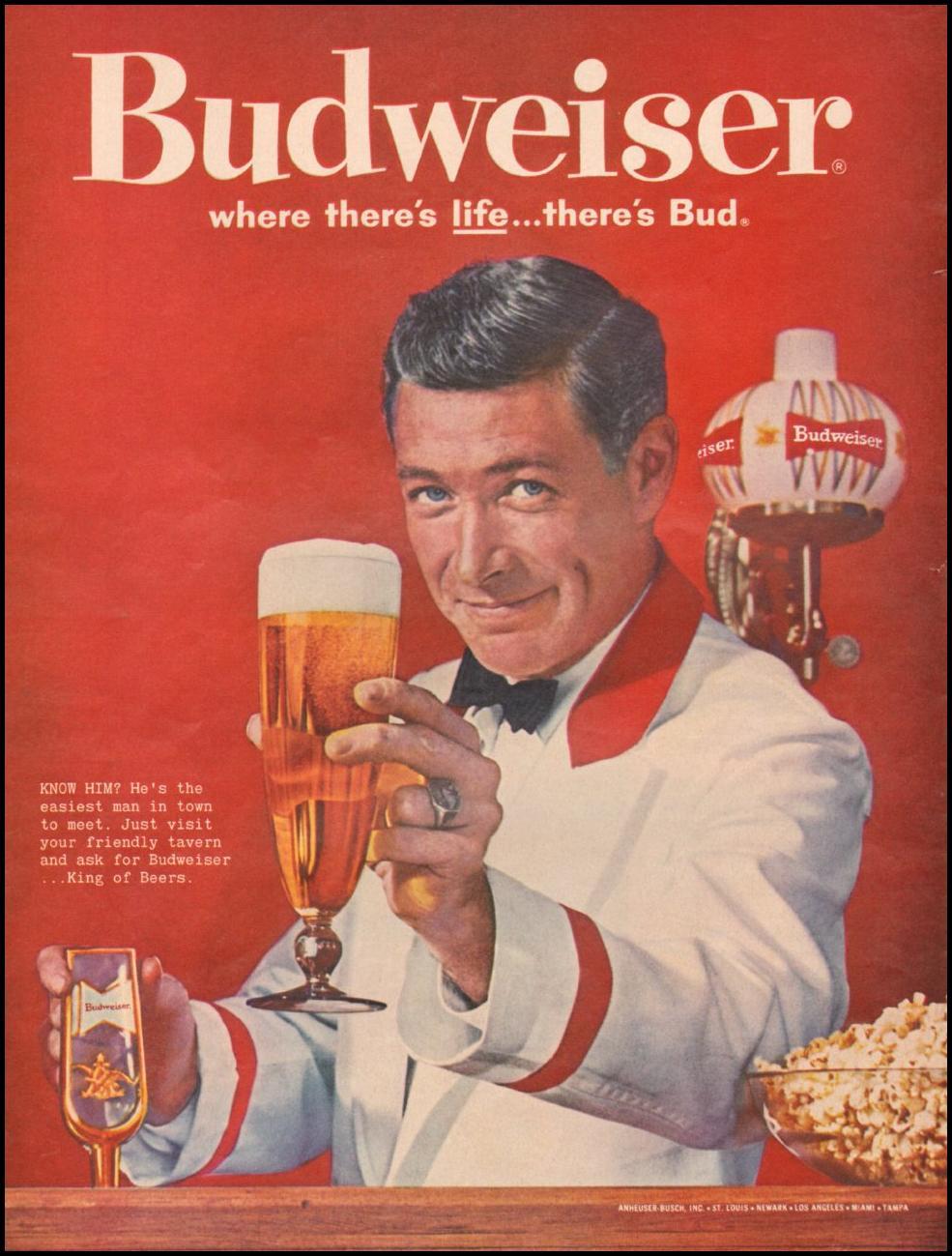 BUDWEISER BEER LIFE 05/05/1961