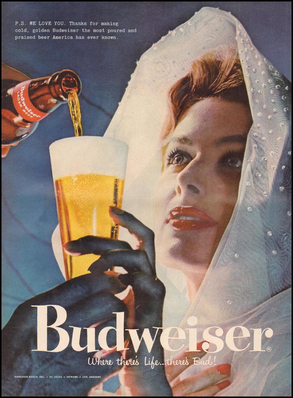 BUDWEISER BEER LIFE 06/24/1957 p. 96