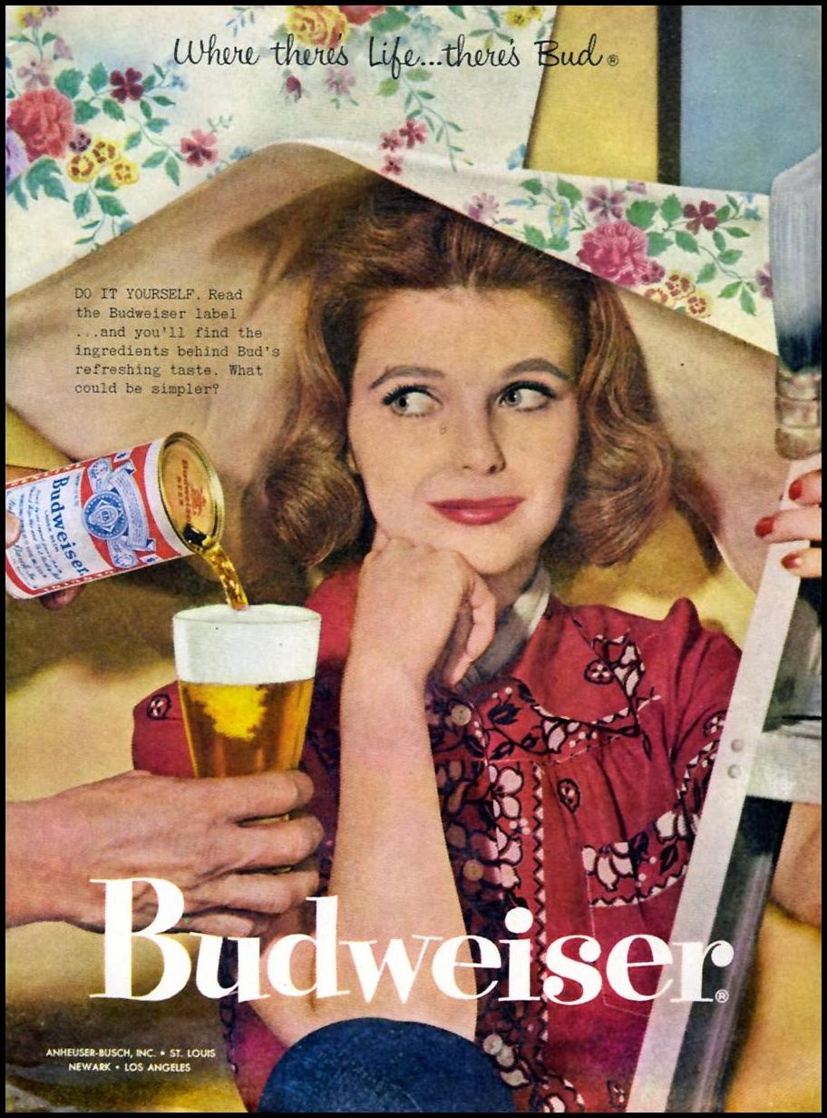 BUDWEISER BEER TIME 05/05/1958 p. 31