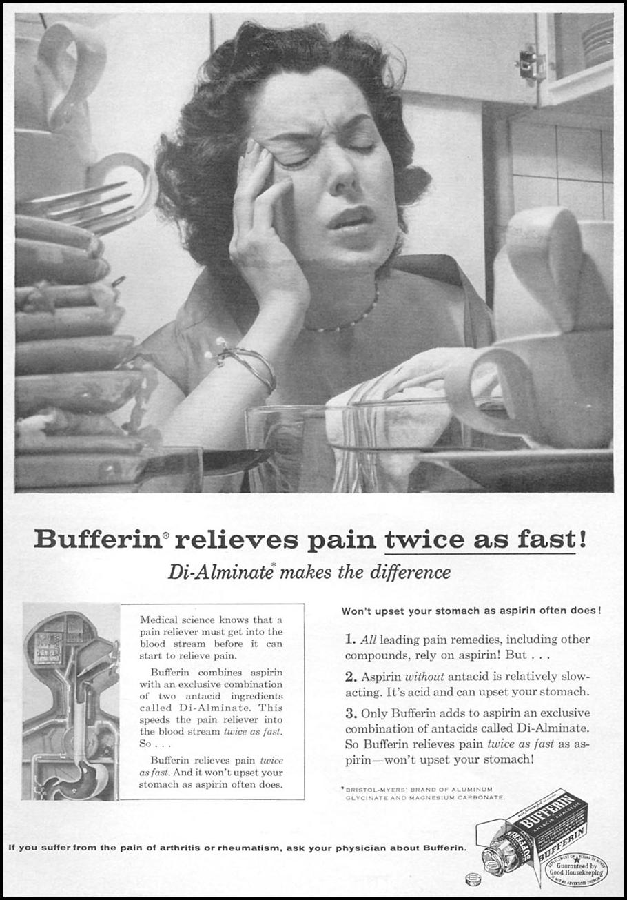 BUFFERIN WOMAN'S DAY 06/01/1958 p. 3