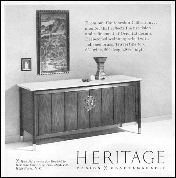 HERITAGE BUFFET TABLE TIME 09/15/1958 p. 8
