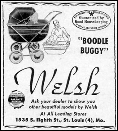WELSH BOODLE BUGGY WOMAN'S DAY 03/01/1949 p. 120