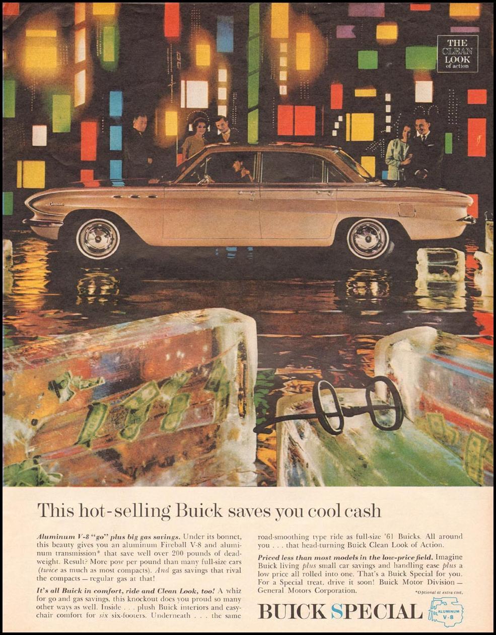 BUICK AUTOMOBILES LIFE 03/31/1961