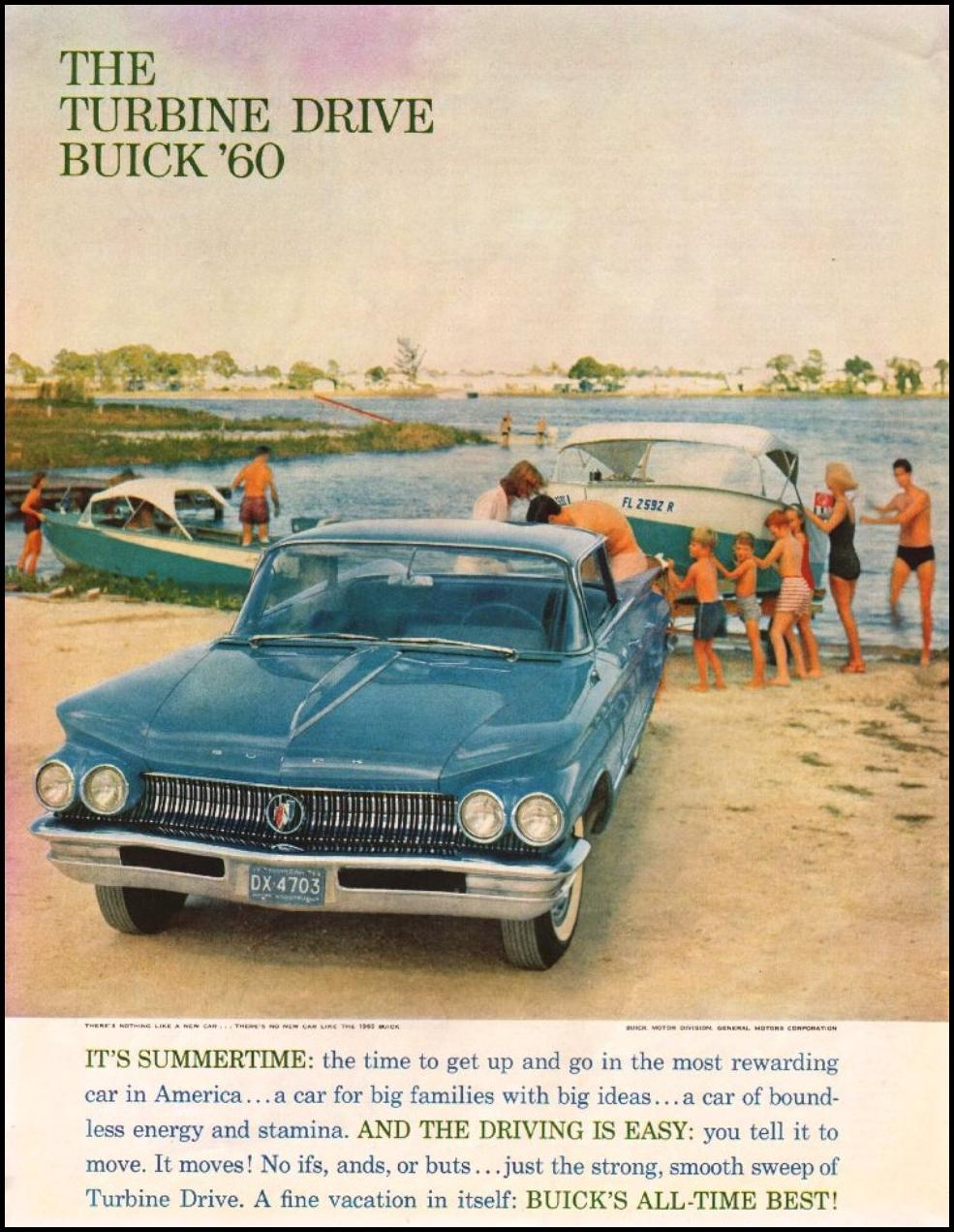 BUICK AUTOMOBILES SATURDAY EVENING POST 06/04/1960 p. 48