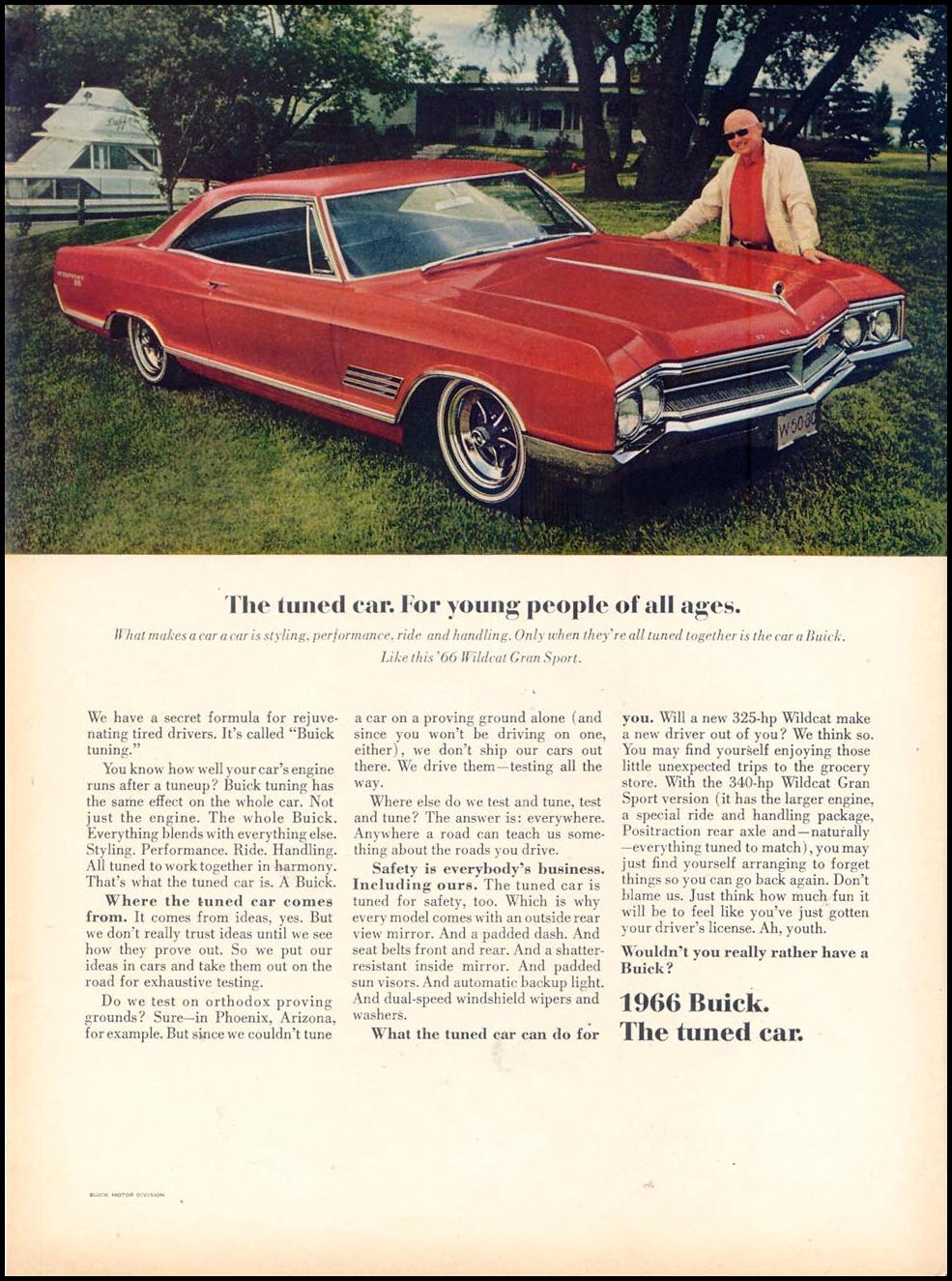 BUICK AUTOMOBILES TIME 03/11/1966 p. 98