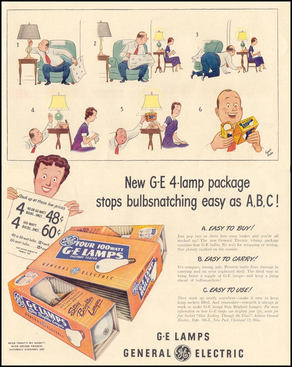 G-E LAMPS LIFE 11/15/1948