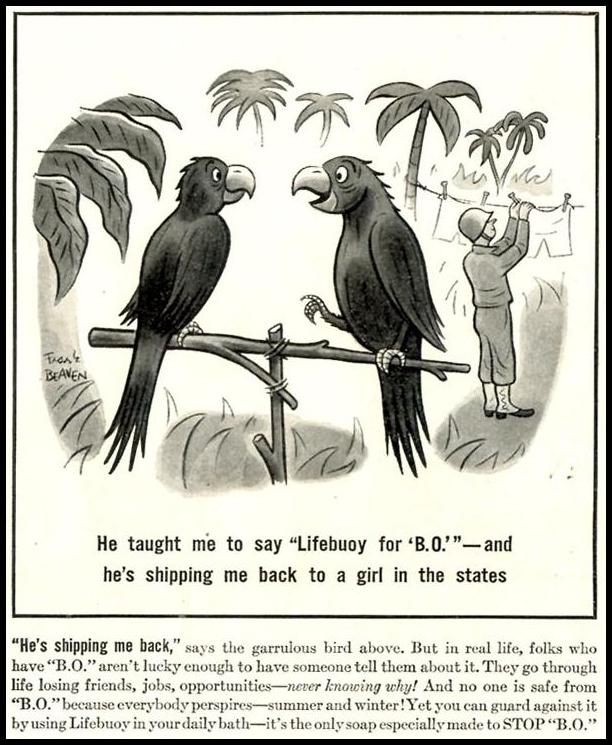 LIFEBUOY SOAP LIFE 02/21/1944 p. 84
