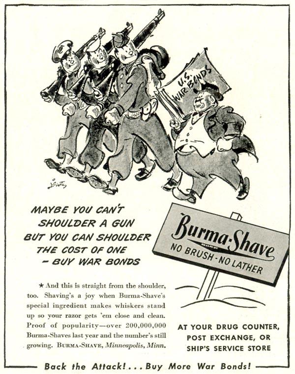 BURMA-SHAVE LIFE 02/21/1944 p. 84
