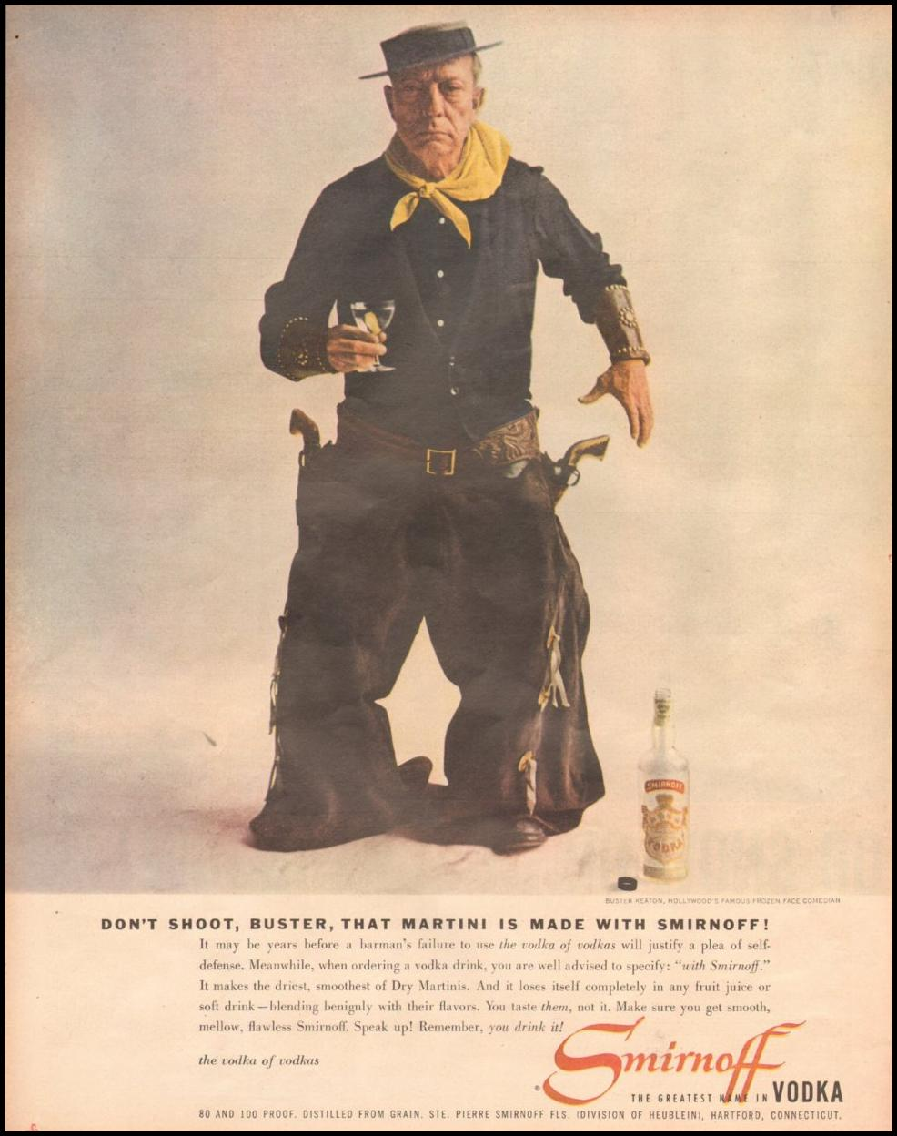 SMIRNOFF VODKA LOOK 10/29/1957 p. 108