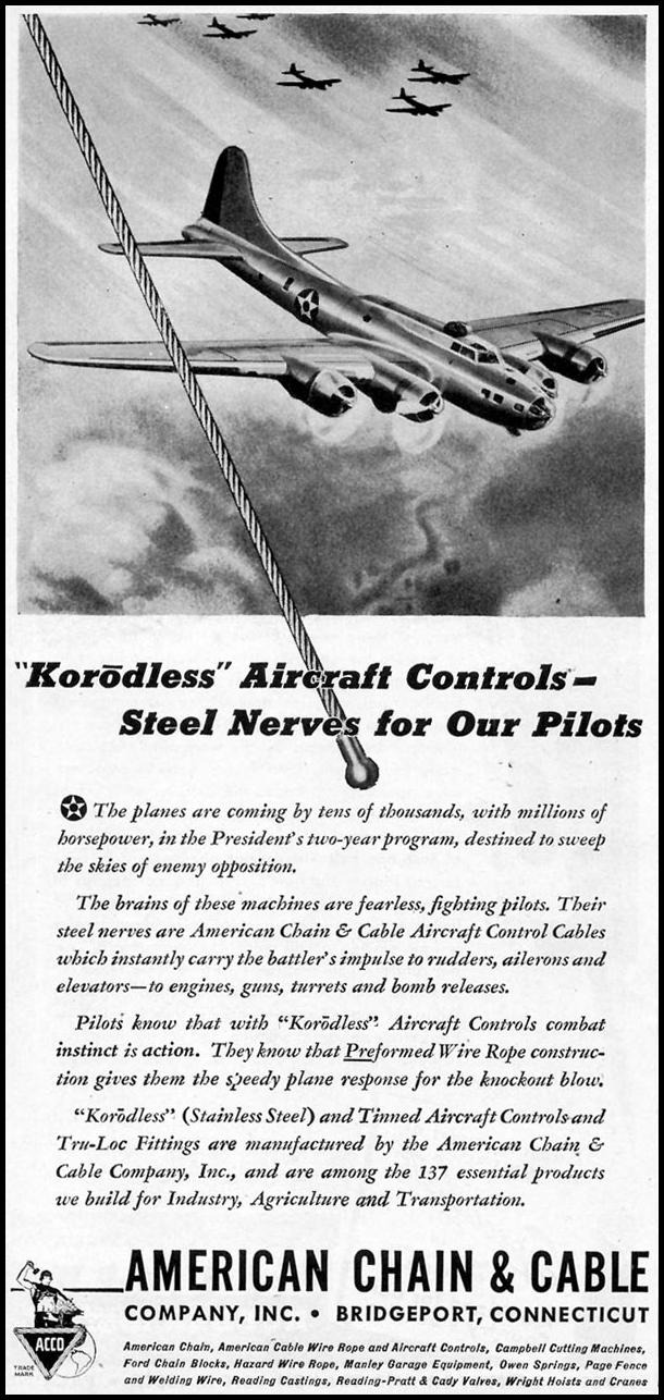 KORODLESS AIRCRAFT CONTROLS TIME 02/16/1942 p. 82