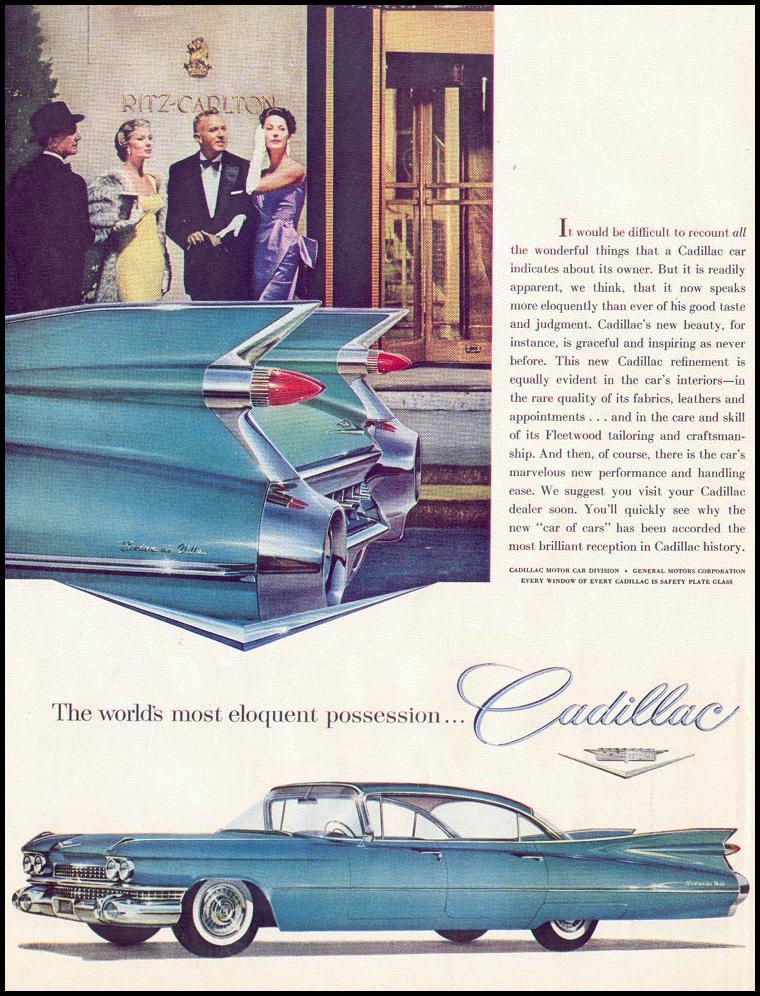 CADILLAC AUTOMOBILES LIFE 02/02/1959 p. 46