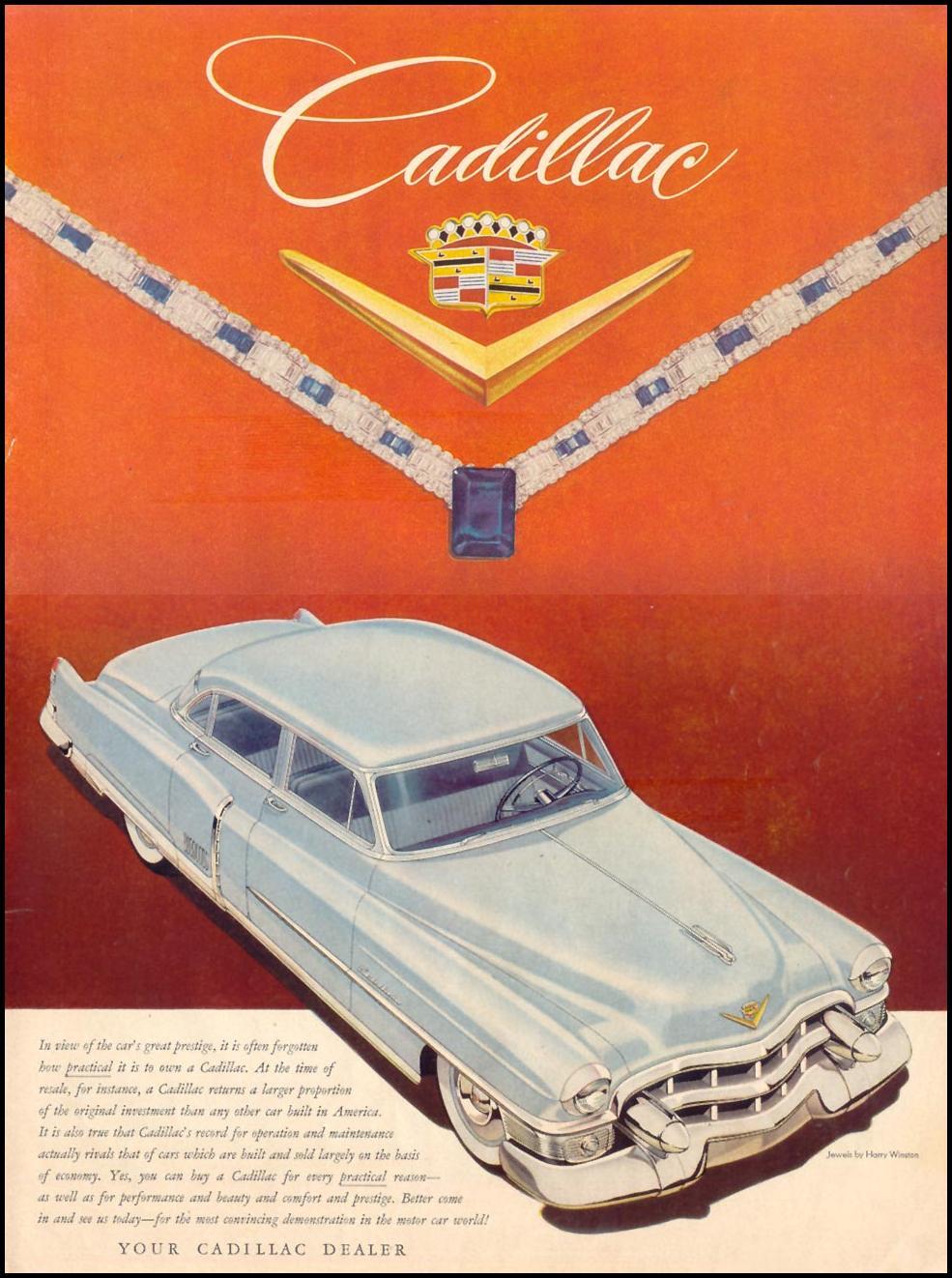 CADILLAC AUTOMOBILES LIFE 07/06/1953 p. 5