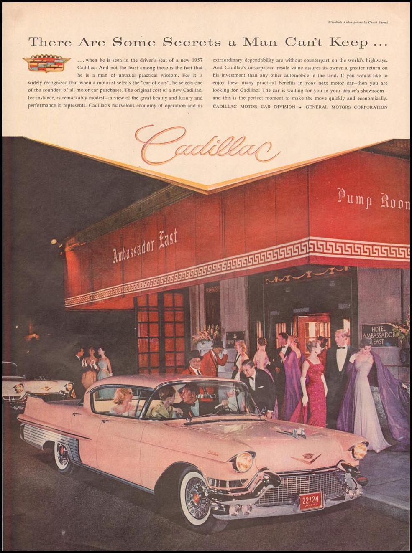 CADILLAC AUTOMOBILES LIFE 09/09/1957 p. 82
