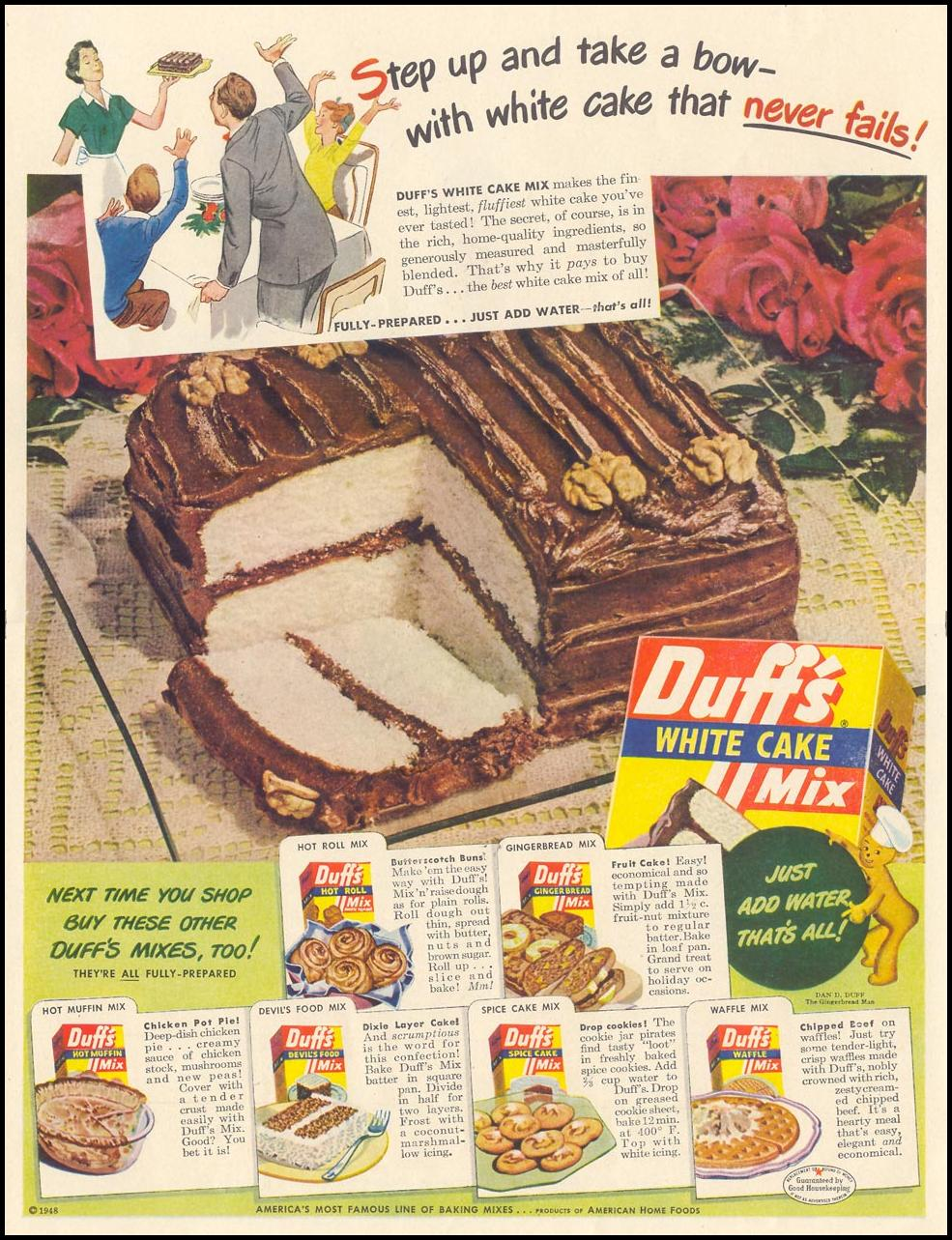DUFF'S BAKING MIXES LIFE 11/15/1948