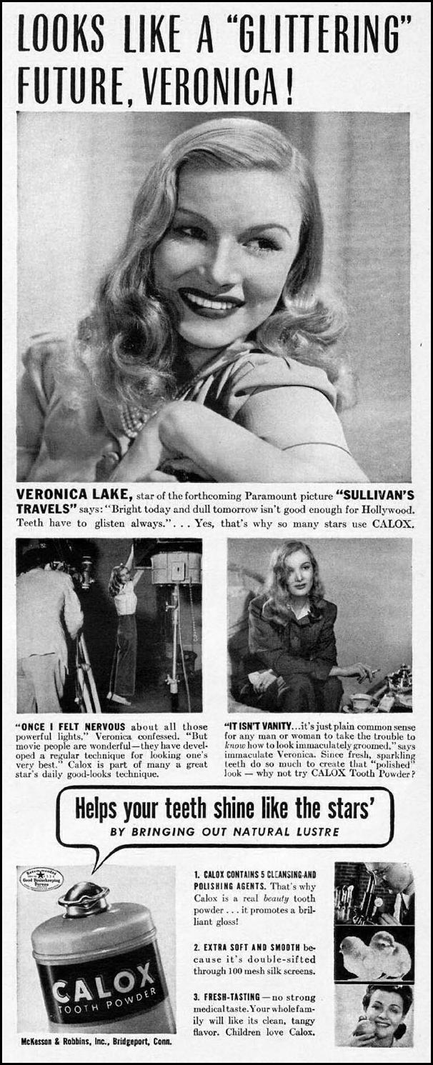 CALOX TOOTH POWDER LIFE 06/04/1945 p. 47