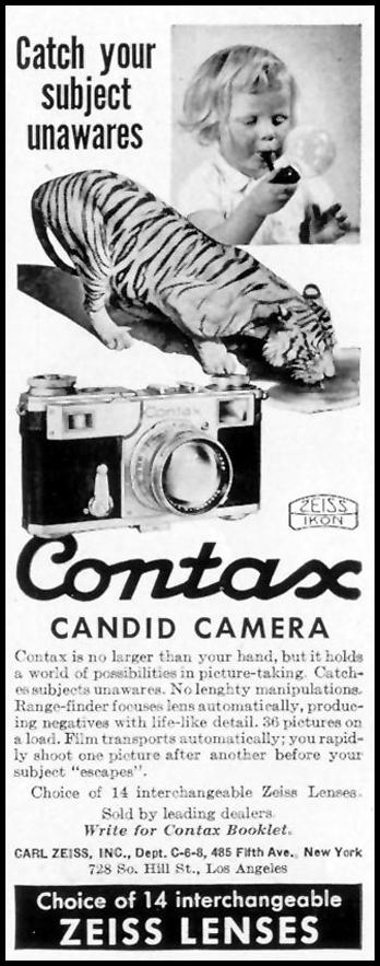 CONTAX CANDID CAMERA LIFE 08/09/1937 p. 93