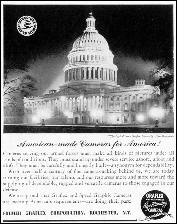 GRAFLEX CAMERAS LIFE 10/13/1941 p. 147