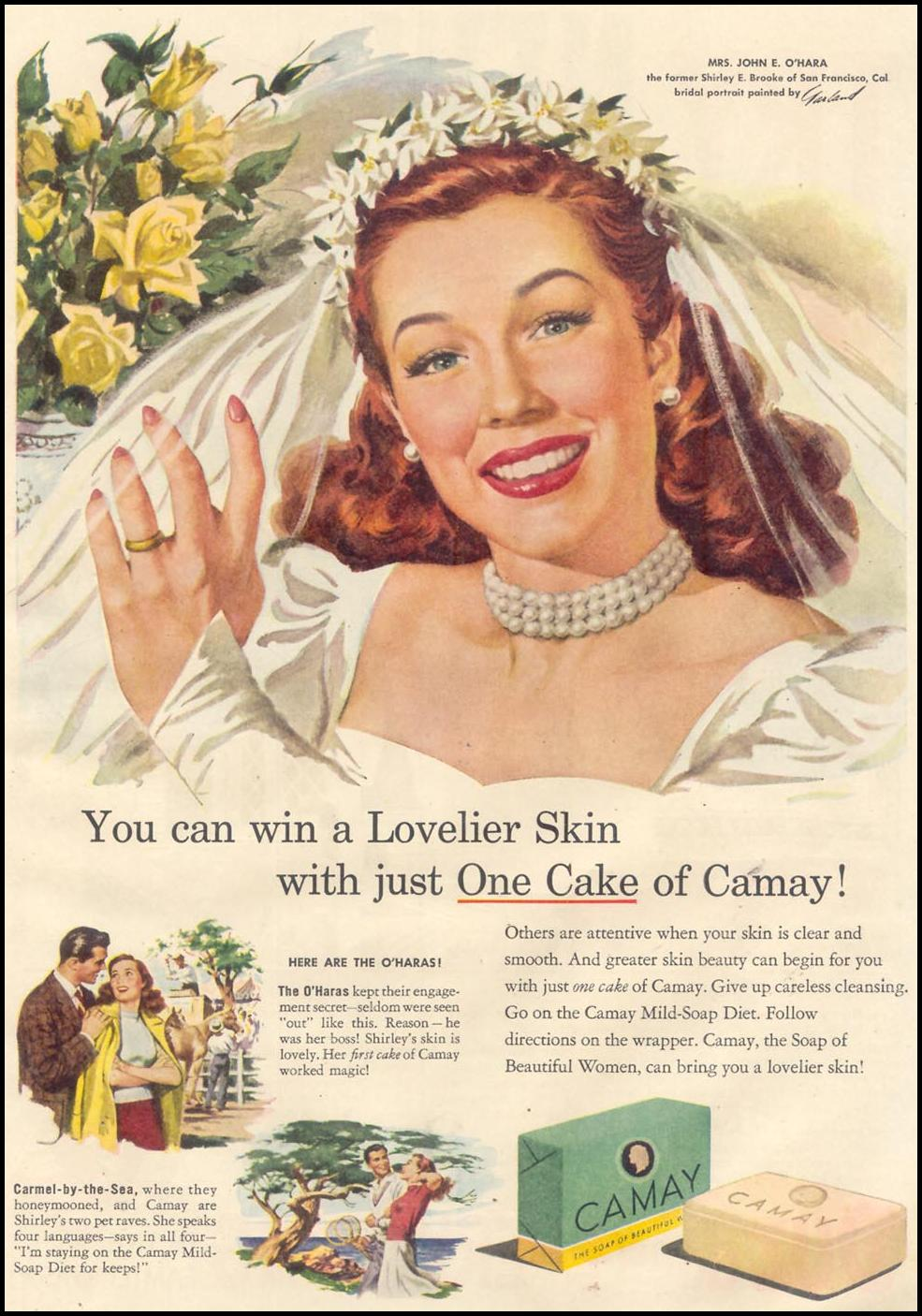 CAMAY SOAP GOOD HOUSEKEEPING 07/01/1948