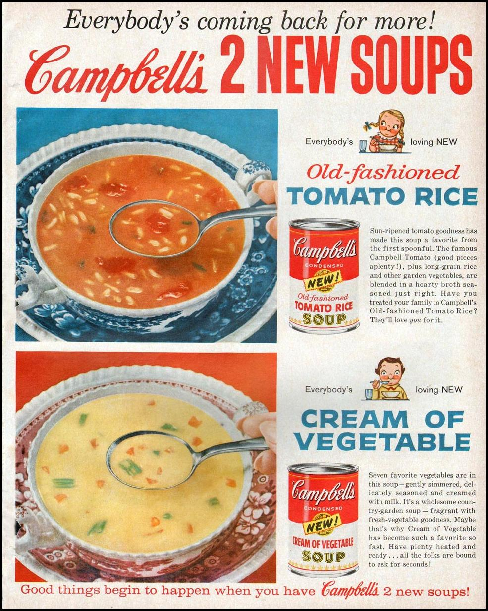 CAMPBELL'S SOUPS BETTER HOMES AND GARDENS 03/01/1960 p. 83