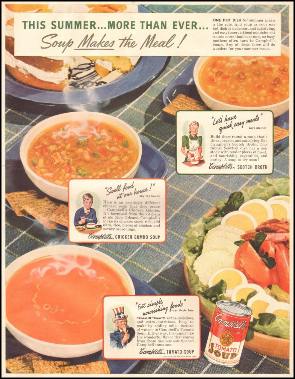 CAMPBELL'S SOUPS LIFE 06/22/1942 p. 29