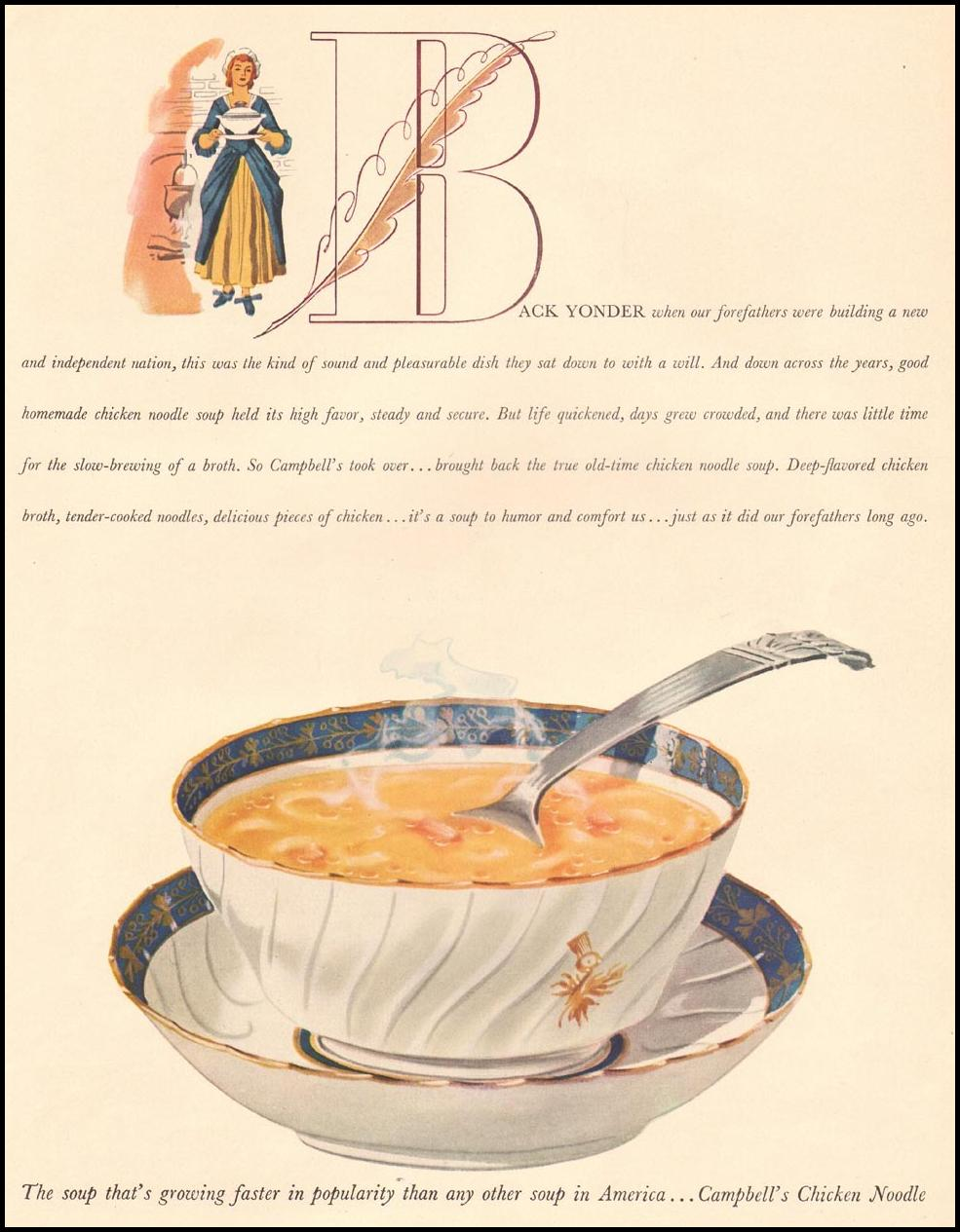 CAMPBELL'S SOUPS LIFE 08/04/1941 p. 25
