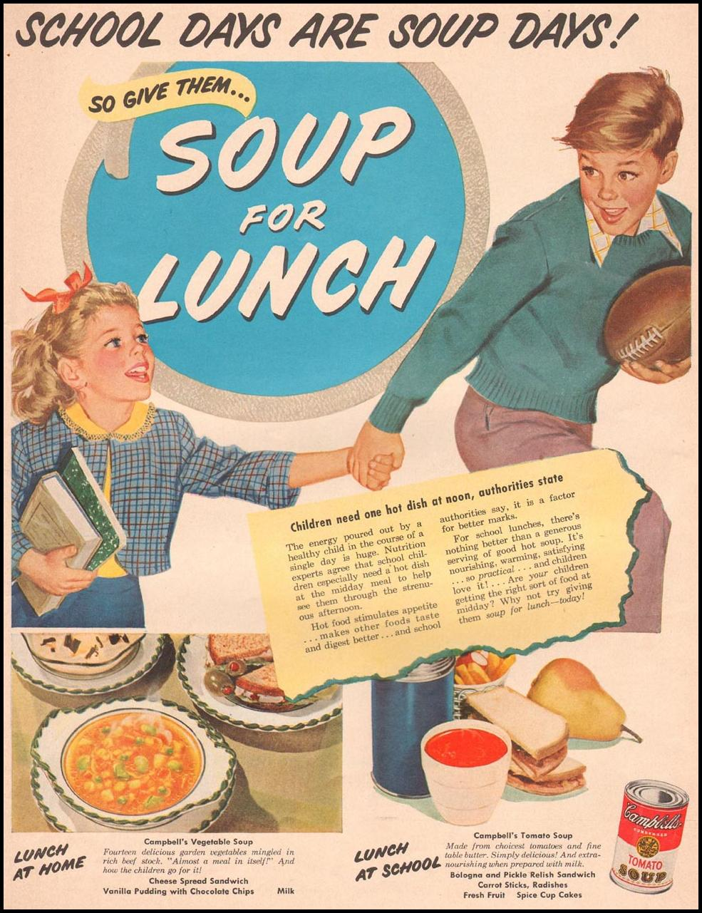 CAMPBELL'S SOUP LIFE 09/03/1951 p. 33