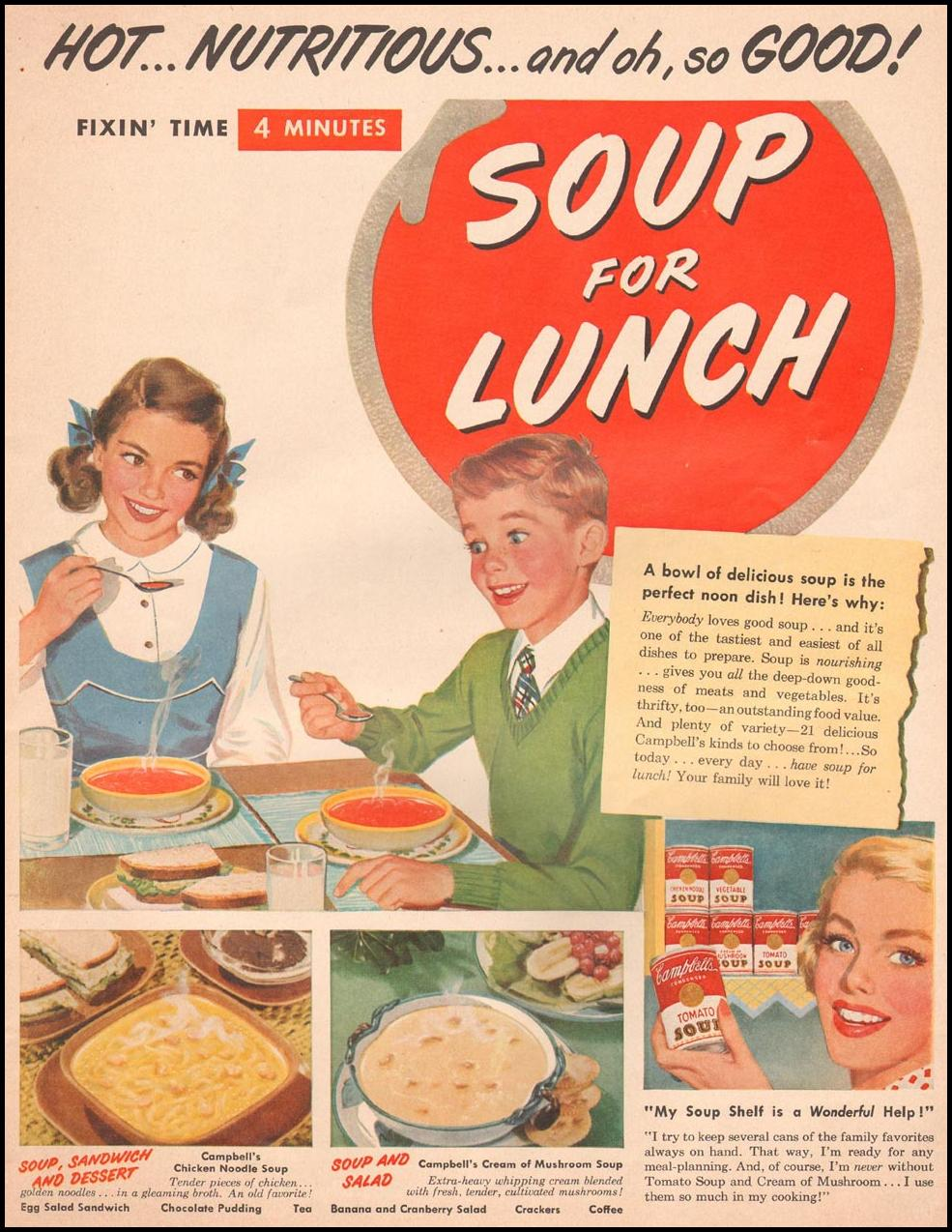CAMPBELL'S SOUP LIFE 10/01/1951
