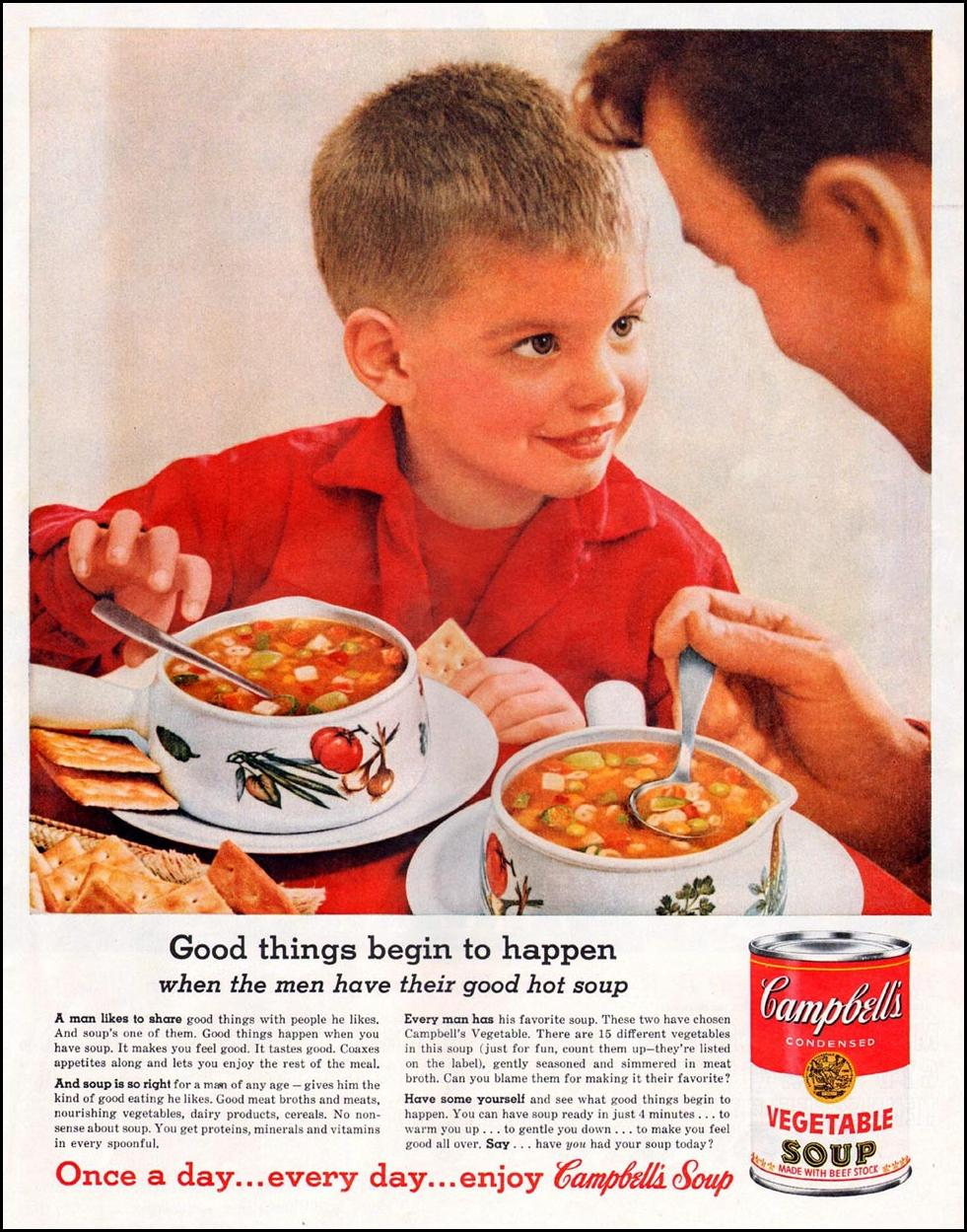 CAMPBELL'S SOUPS LIFE 10/05/1959